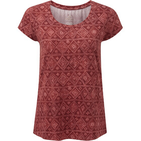 Sherpa Kira Tee Women, clay red